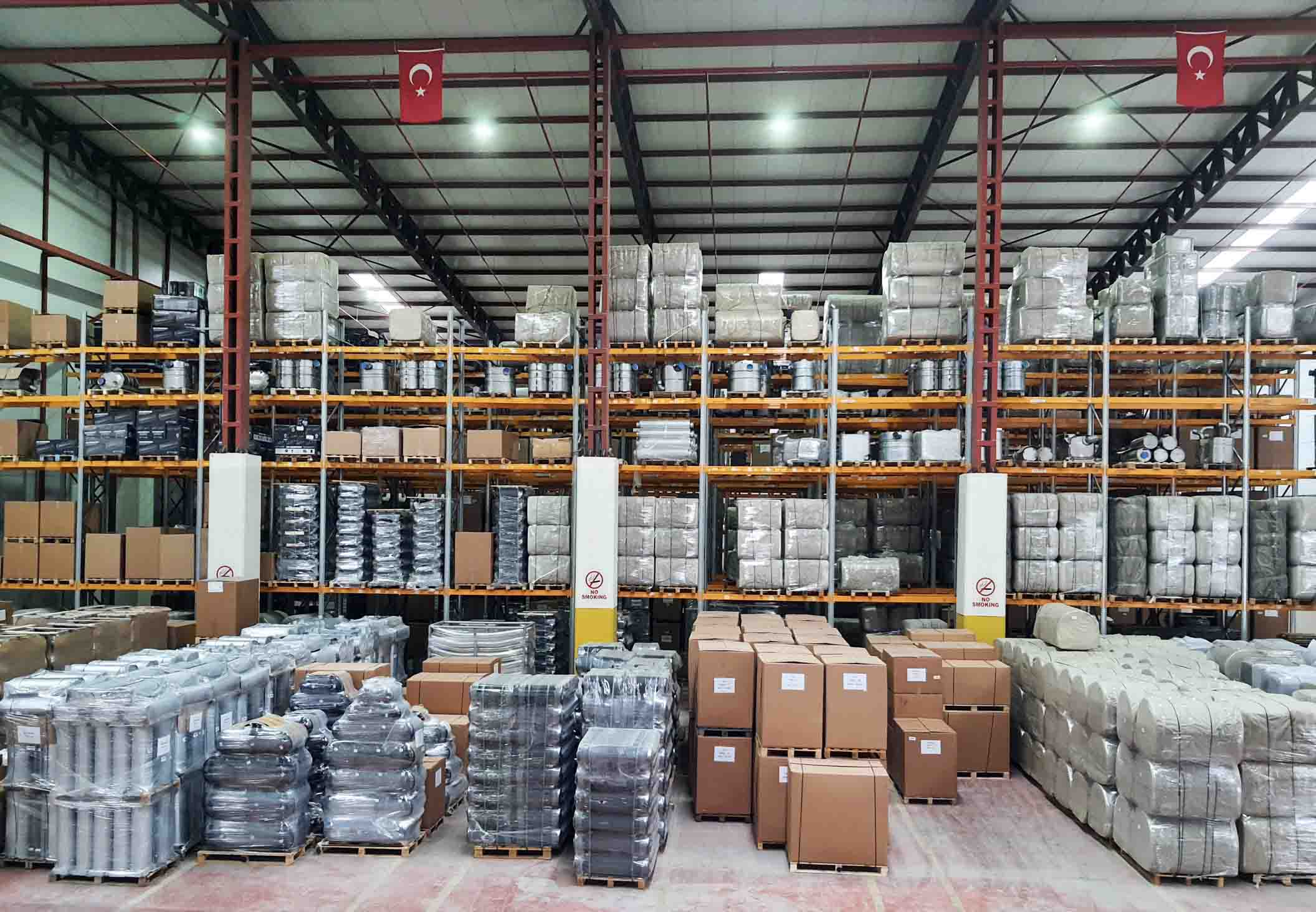 Our new warehouse started its operations.